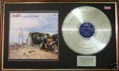 RUSH - LP Platinum disc & cover - A FAREWELL TO KINGS